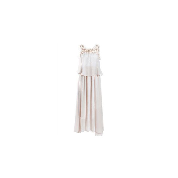 Necklace Brocade Dress ❤ liked on Polyvore featuring dresses, white beaded dress, white sparkly dress, white dress, sparkly cocktail dresses and white beaded cocktail dress