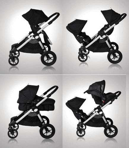 Baby Jogger - City Select - All the different seats you can get for it.