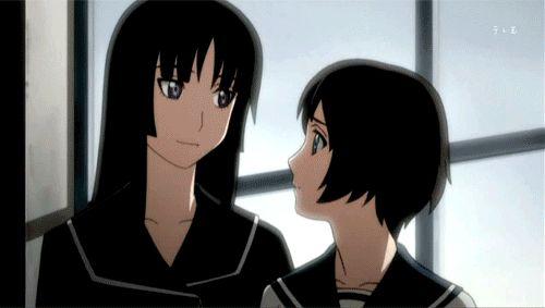 Animated gif about kagura in ˜Ga Rei Zero˜ by T h i s W o r l d I s Cruel