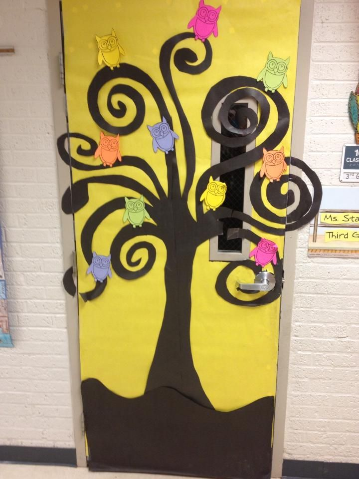 Classroom Door Decorations For Fall best 25+ owl classroom door ideas that you will like on pinterest