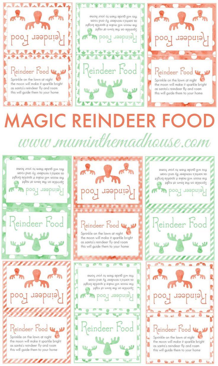best 25 magic reindeer food ideas on pinterest reindeer food