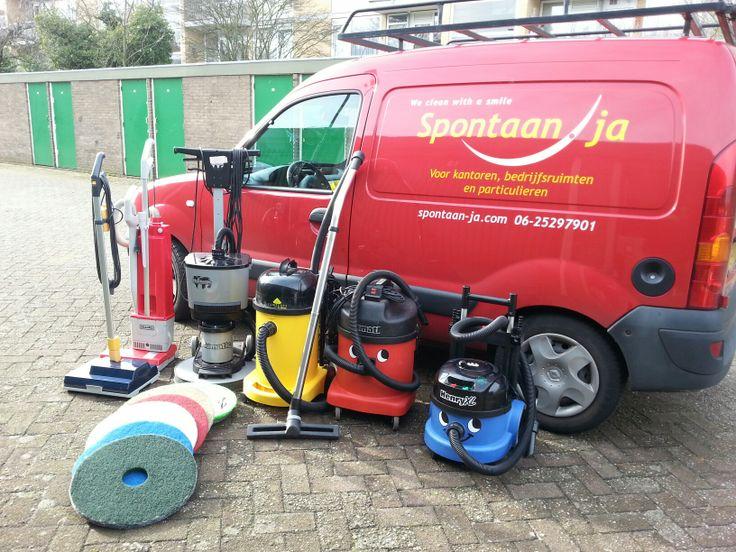We provide own equipment
