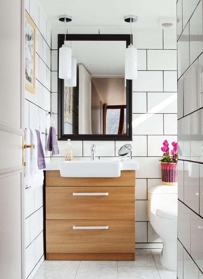 Modern industrial bathroom renovation
