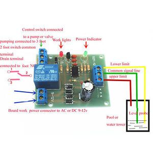 Módulo Sensor de controlador de nivel de líquido sensor de detección de nivel de agua componentes