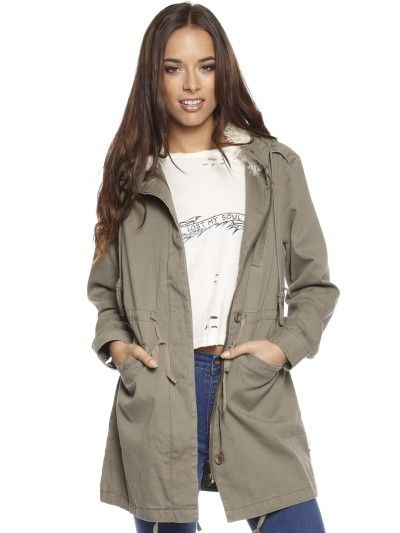 Tame Jacket in Army