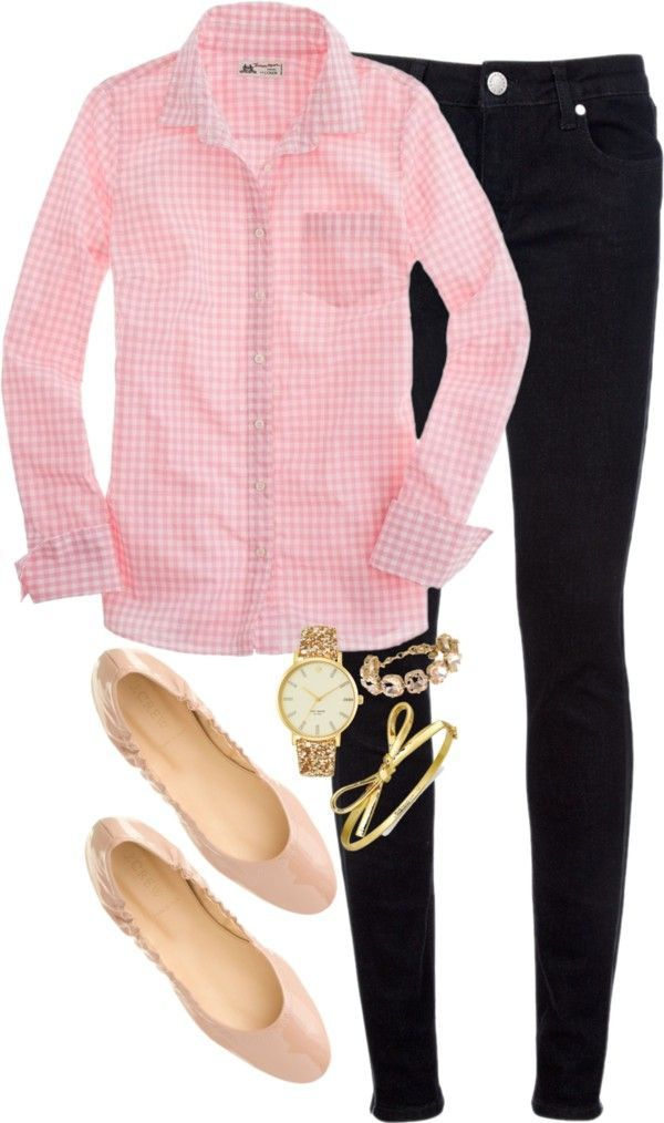 8 preppy casual spring outfits - Page 7 of 8 - women-outfits.com