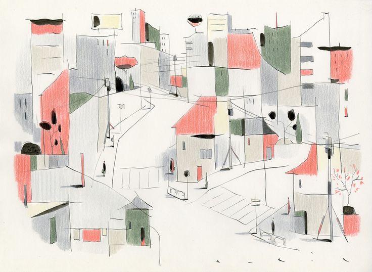 François Avril #illustration #graphisme #design #graphicdesign #visualart #drawing