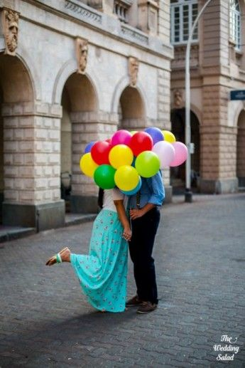 Up themed pre wedding shoot