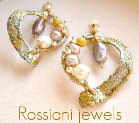 Segerto, Sablè line - mixed pearls - Rossiani Jewels - Italian handmade jewels - Made in Italy