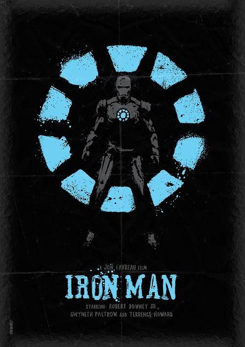 Beautiful IRON MAN Poster Art and More by DanielNorris - News - GeekTyrant