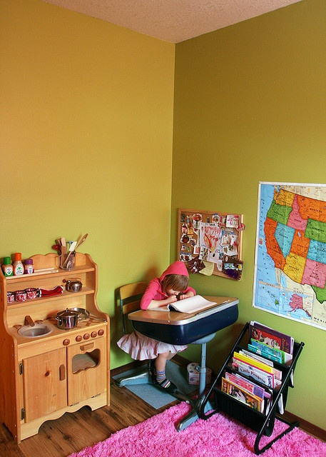 Studious Kids Rooms Room And Desks