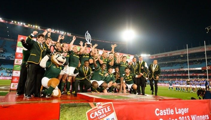 Springboks win the Castle Lager Incoming Series