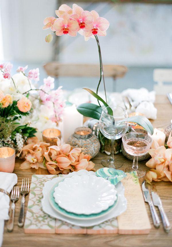 Wedding table settings that wow…