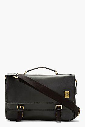 DIESEL Black Swingy Messenger Bag