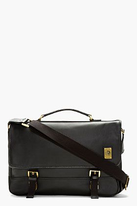 DIESEL Black Swingy Messenger Bag
