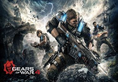 """How can I use the steam controller with Gears of War 4? The controller actually works, by default, but some buttons are missing such as """"R"""" for reloading. I can't load Gears of War 4 in Steam as a non-steam game since it is a Microsoft Stor"""
