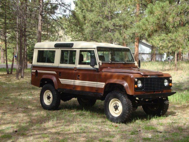 1983 Land Rover Defender - Defender Source County - love the stripes