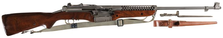Johnson Model 1941 Semi-Automatic Rifle with Bayonet