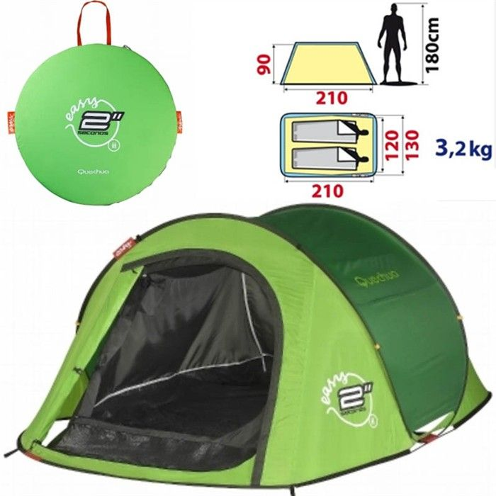 1000 images about camping randonn e on pinterest - Tente 4 places 2 chambres seconds family 4 2 xl ...