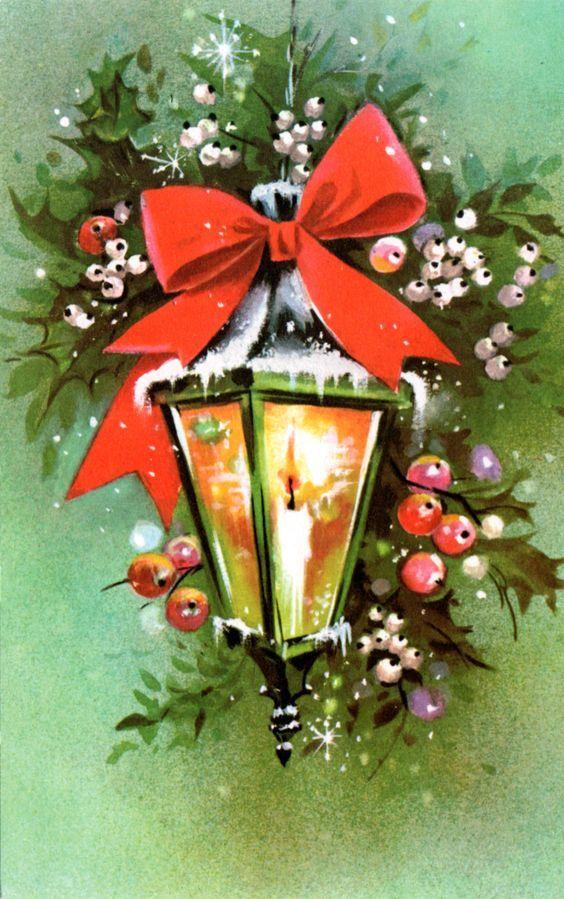 Новогодняя елка открытки винтаж, именем