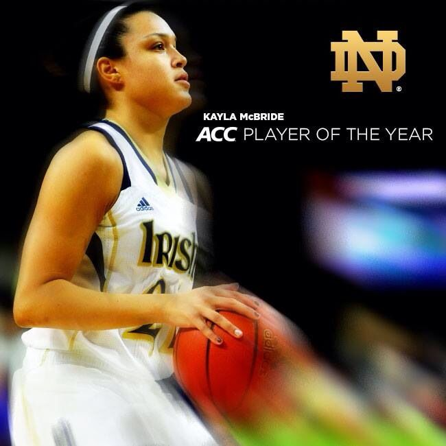 Kayla McBride Player of The Year!