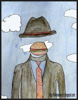 Tekenen en zo: In de stijl van René Magritte (2)