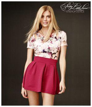 Pretty Little Liars Hanna Pleated Skirt