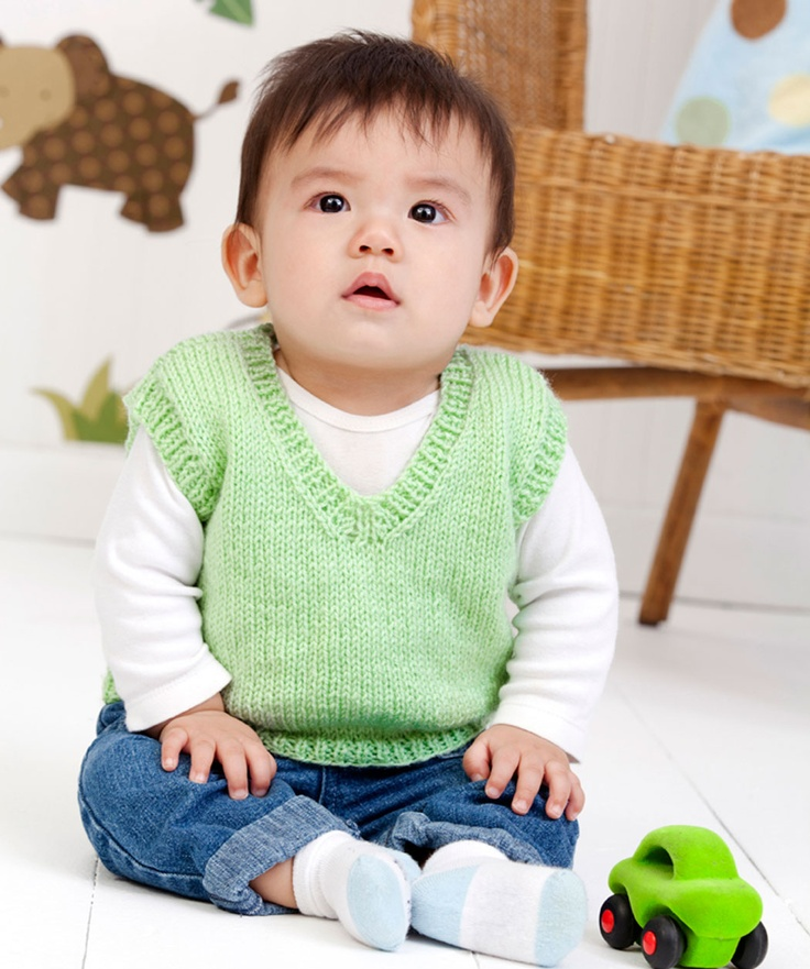 Knitting Patterns For Baby Boys : Best 25+ Baby vest ideas on Pinterest