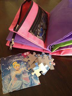 Dollar Store puzzle organization!  #KathyClulow 905.852.6143 www.KathyClulow.ca