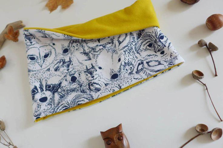 Nähen für den Herbst: Halssocke und Loop stehen ganz oben auf der Liste. Hier findet ihr das Tutorial und kostenlose Schnittmuster.
