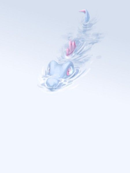 Hello there, Totodile. Please stop looking at me like that now.