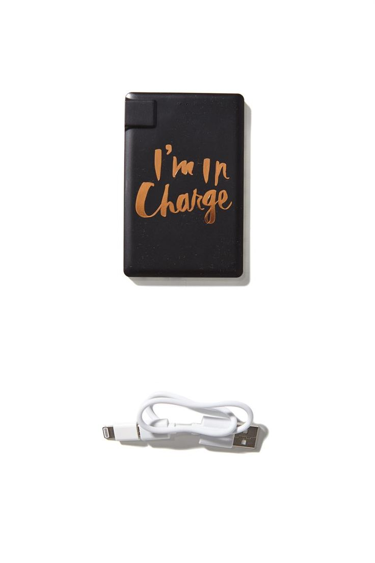 charge on the go #typoshop
