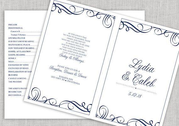 1000  ideas about wedding programs wording on pinterest