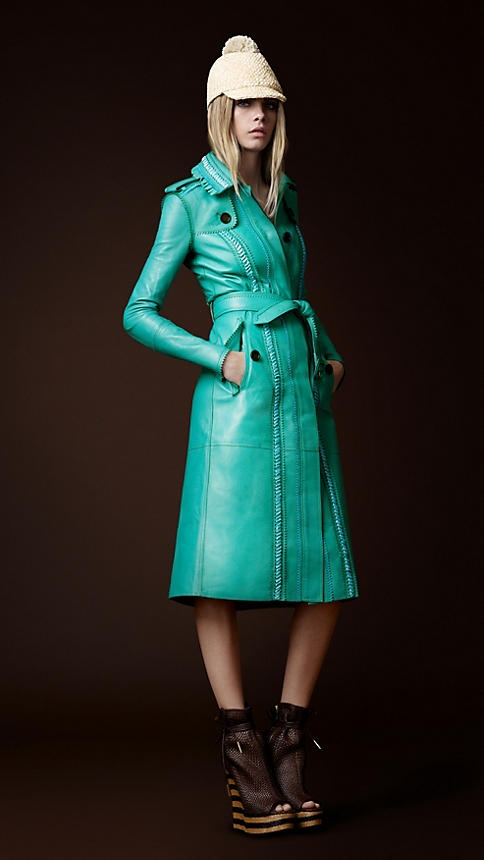 Burberry! I love this color