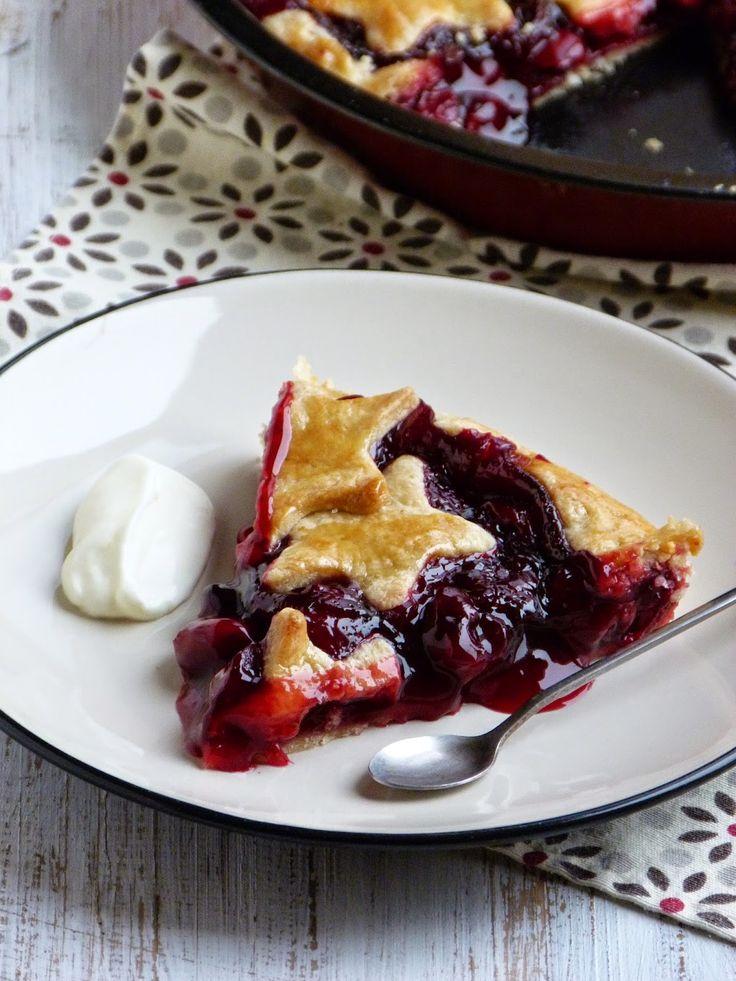 Chic, chic, chocolat...: Cherry pie {tarte aux cerises américaine}