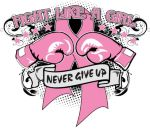 fight like a girl boxing gloves tattoos for women | Stand up to Fight Like a Girl with our unique boxing glove pink ribbon ...