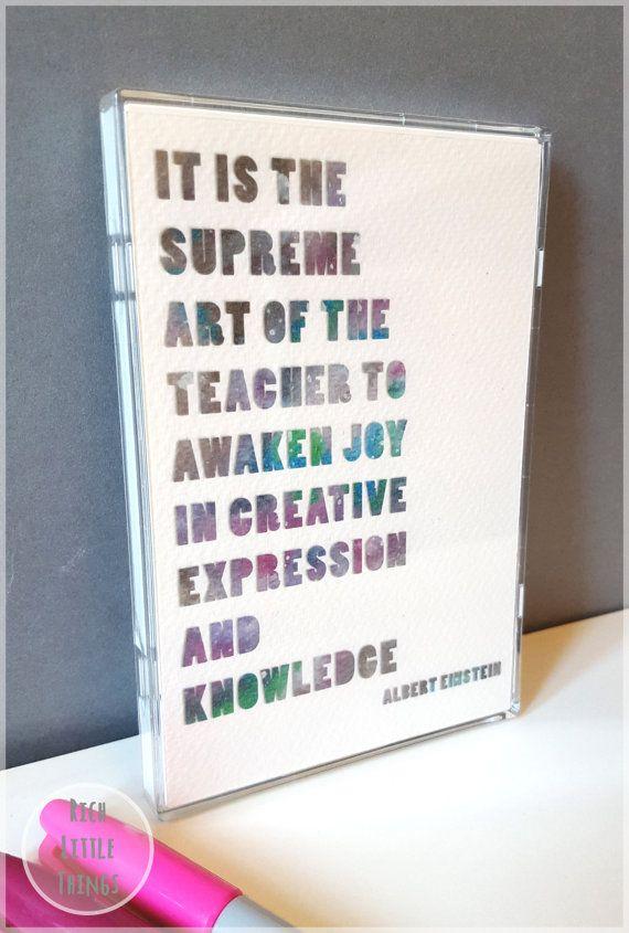 Teachers Christmas Gift  Framed Mini Print  by RichLittleThings #ideasforteachers #teachersgift