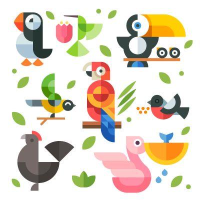 Magic birds by Oleg Beresnev