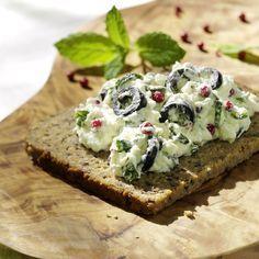 Feta-Olive Aufstrich