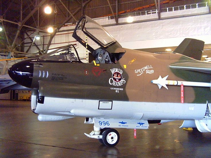 A-7D at Wings over Rockies Museum 2007 - LTV A-7 Corsair II