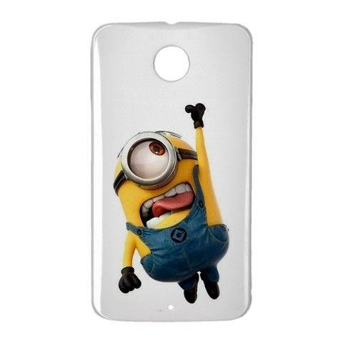 Hanging Stuart Minion Google Nexus 6 Case Cover Wrap Around