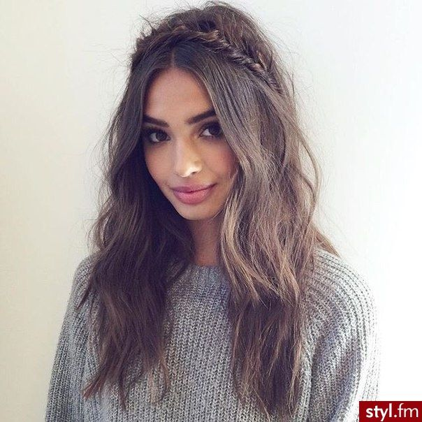 25+ best ideas about Dugie Wosy na Pinterecie - Cute Shoulder Length Hairstyles