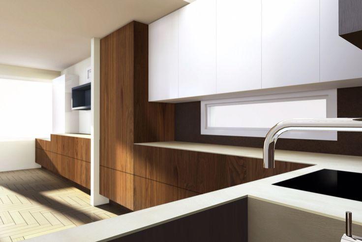 Italian Verenna kitchen design.