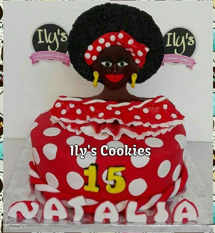 Torta Negrita Puloy  *•.¸♥♥¸.•*Ily´s Cookies*•.¸♥♥¸.•*