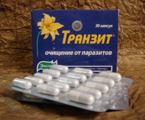 Tranzit (vyčištění od parazitů) 30tbl.