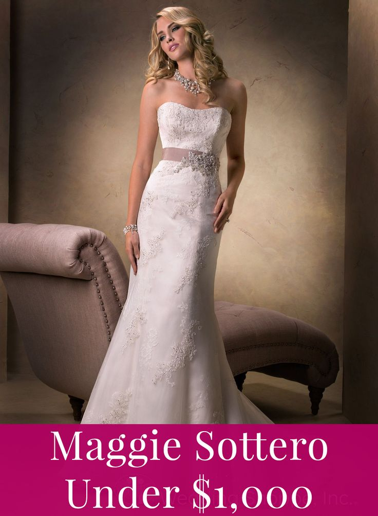 Maggie Sottero prices under 1,000
