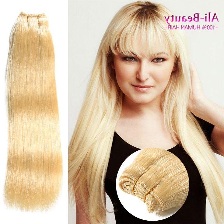 37.16$  Buy here - https://alitems.com/g/1e8d114494b01f4c715516525dc3e8/?i=5&ulp=https%3A%2F%2Fwww.aliexpress.com%2Fitem%2F8a-Grade-Virgin-Unprocessed-Human-Hair-Brazilian-Hair-Weave-Bundles-613-Blonde-Virgin-Hair-Straight-Weave%2F32761024369.html - 8a Grade Virgin Unprocessed Human Hair Brazilian Hair Weave Bundles 613 Blonde Virgin Hair Straight Weave Bundles Cabelo Humano