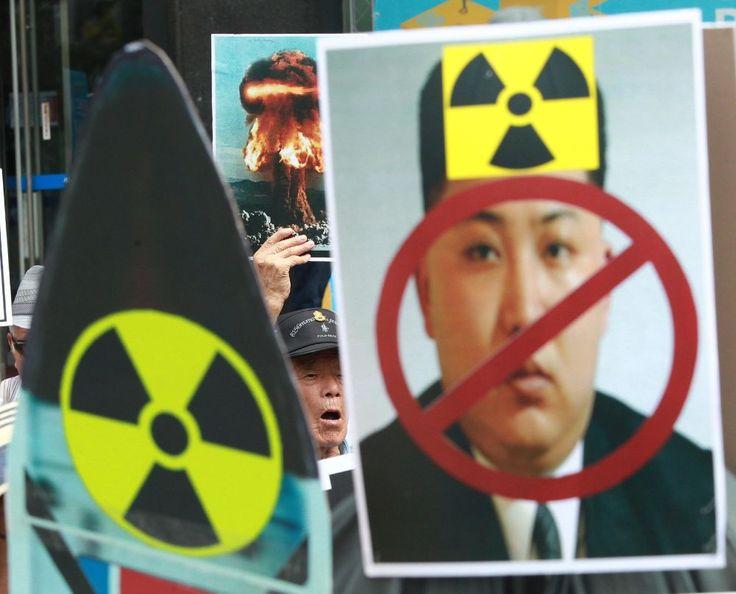 BASE AÉREA OSAN, Corea del Sur (AP) — Dos bombarderos supersónicos estadounidenses con capacidad nuclear volaron por el cielo de su aliado Corea del Sur como demostración de fuerza para intimidar a Corea del Norte después que ésta realizara su quinta prueba nuclear, y también para calmar el nerviosismo