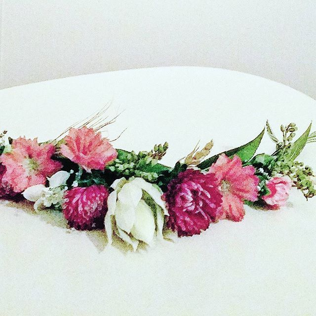 Romantic flower crown - pretty as a picture
