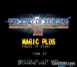 The King of Fighters 2002 Magic Plus II (bootleg) ROM Descargar para MAME - CoolROM.com